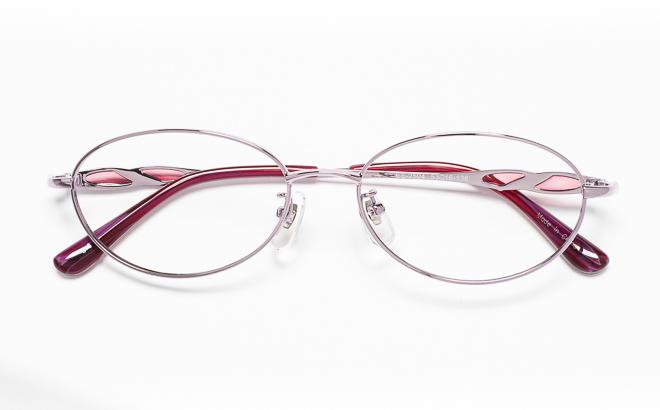 【送料無料】メガネ度付き/度なし ESSEエッセ ES-2504 3(PU)パープル【薄型レンズ追加料金0円】(メガネケース・メガネ拭き付) メガネ/めがね/眼鏡/度付きメガネ/度入り/伊達メガネ/眼鏡フレーム