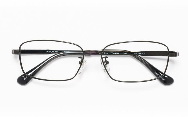 【送料無料】メガネ度付き/度なし Hermosaエルモサ HP-2002 3(DGRグレー【薄型レンズ追加料金0円】(メガネケース・メガネ拭き付) メガネ/めがね/眼鏡/度付きメガネ/度入り/伊達メガネ