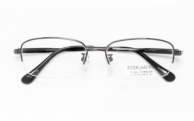 【送料無料】メガネ度付き/度なし Hermosaエルモサ HP-2003 3(DGRグレー【薄型レンズ追加料金0円】(メガネケース・メガネ拭き付) メガネ/めがね/眼鏡/度付きメガネ/度入り/伊達メガネ