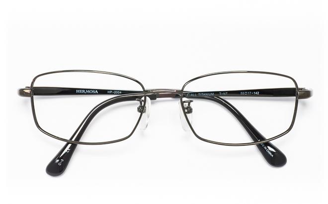【送料無料】メガネ度付き/度なし Hermosaエルモサ HP-2004 3(DGRグレー【薄型レンズ追加料金0円】(メガネケース・メガネ拭き付) メガネ/めがね/眼鏡/度付きメガネ/度入り/伊達メガネ