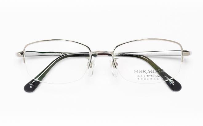 【送料無料】メガネ度付き/度なし Hermosaエルモサ HP-2005 1(GR)グレー【薄型レンズ追加料金0円】(メガネケース・メガネ拭き付) メガネ/めがね/眼鏡/度付きメガネ/度入り/伊達メガネ