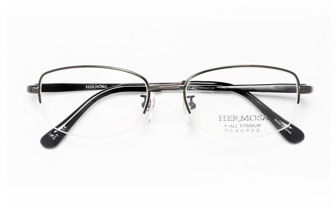 【送料無料】メガネ度付き/度なし Hermosaエルモサ HP-2005 3(DGRグレー【薄型レンズ追加料金0円】(メガネケース・メガネ拭き付) メガネ/めがね/眼鏡/度付きメガネ/度入り/伊達メガネ