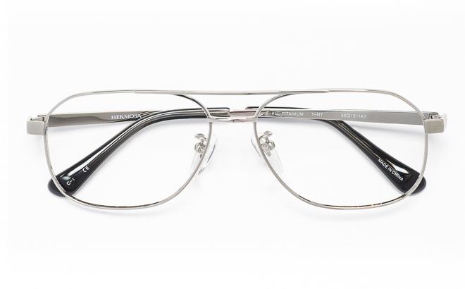 【送料無料】メガネ度付き/度なし Hermosaエルモサ HP-2007 1(GR)グレー【薄型レンズ追加料金0円】(メガネケース・メガネ拭き付) メガネ/めがね/眼鏡/度付きメガネ/度入り/伊達メガネ