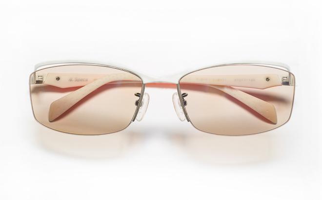 【送料無料】メガネ度付き/度なし H. Specs エイチスペックス HS-1002 3WHORホワイト×オレンジ【薄型レンズ追加料金0円】(メガネケース・メガネ拭き付) メガネ/めがね/眼鏡/度付きメガネ/度入り/伊達メガネ