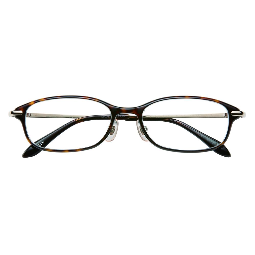 i-mine イマイン IMI03-2412 ブラウンデミ レディース/メガネ/めがね/眼鏡/度付きメガネ/度入り/伊達メガネ