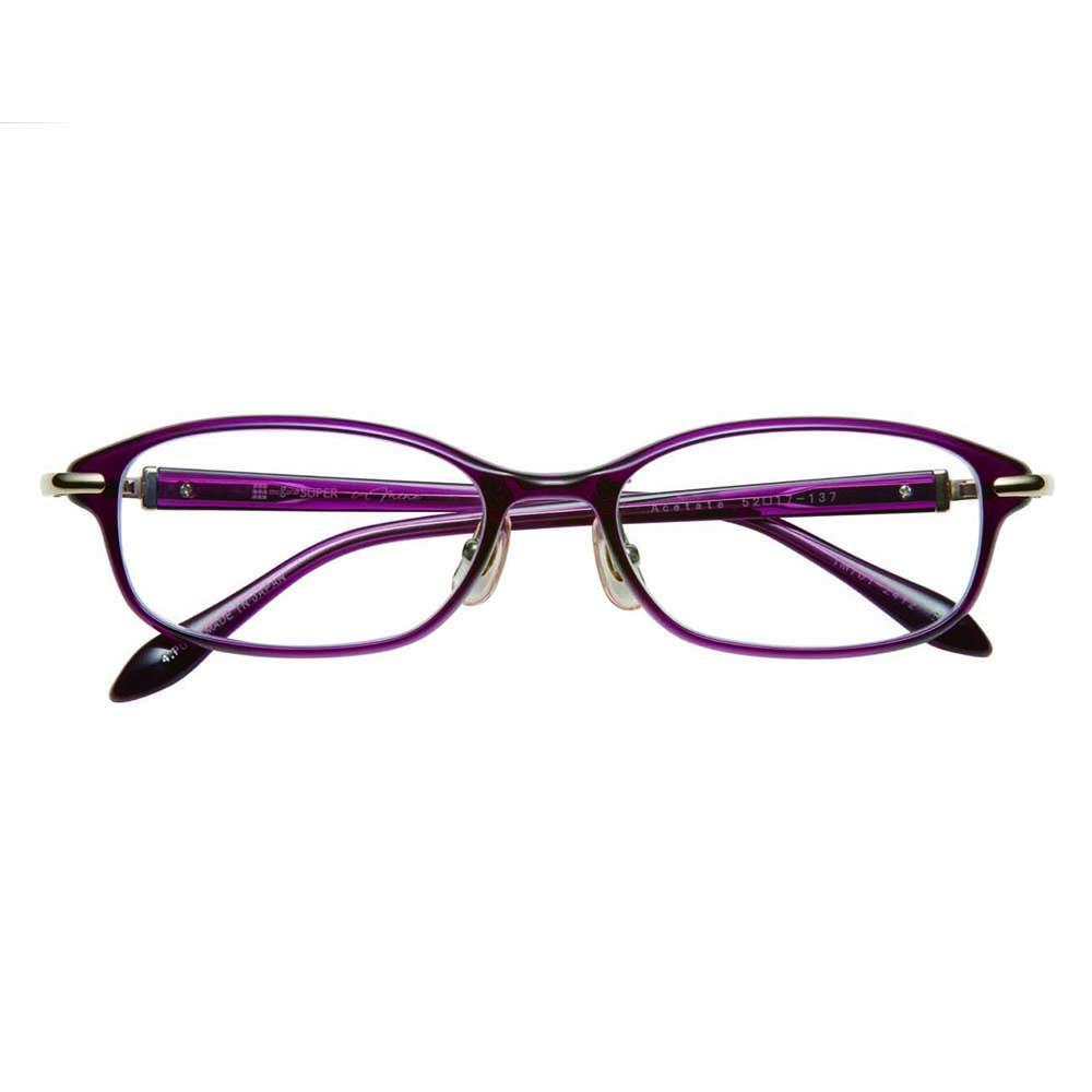 i-mine イマイン IMI01-2412 4パープル レディース/メガネ/めがね/眼鏡/度付きメガネ/度入り/伊達メガネ