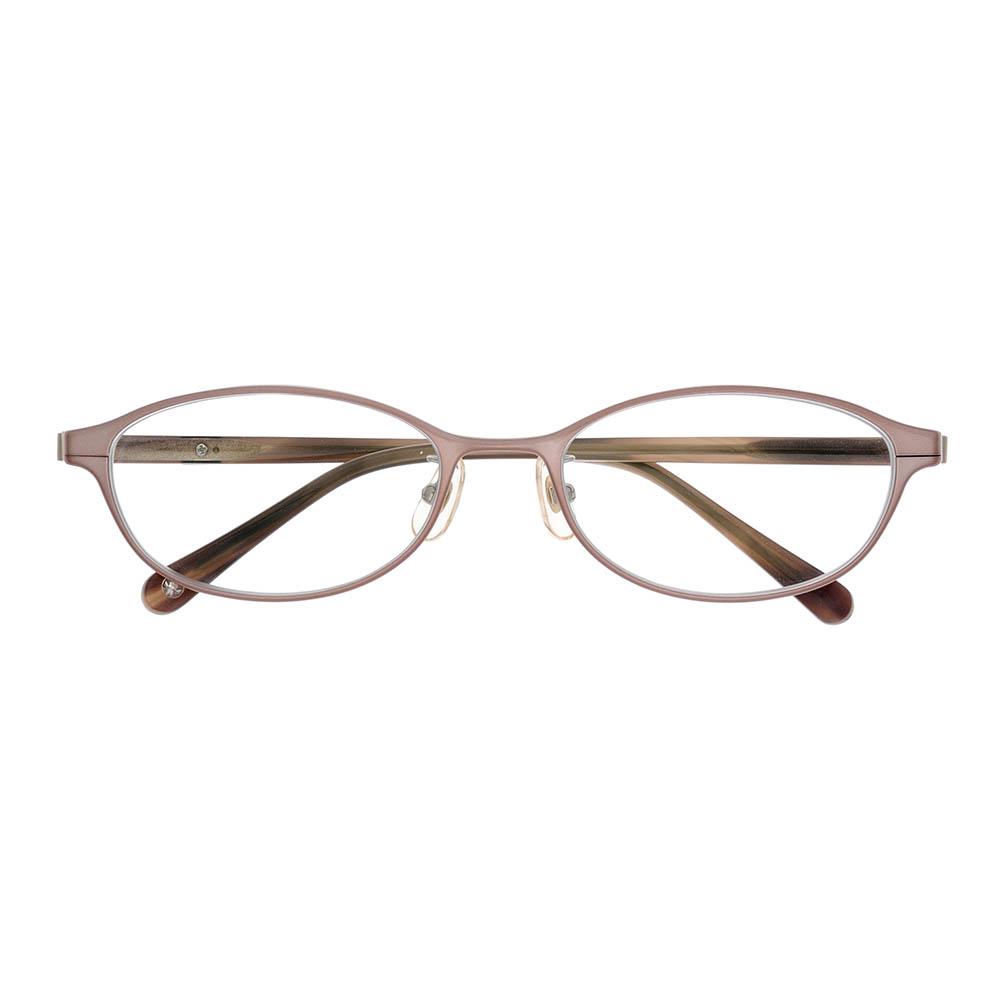 i-mine イマインIMI06-2411(7B24N) 1ピーチピンク レディース/メガネ/めがね/眼鏡/度付きメガネ/度入り/伊達メガネ