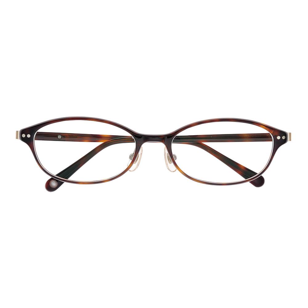 i-mine イマイン IMI07-2311(7B24N) 2デミブラウン レディース/メガネ/めがね/眼鏡/度付きメガネ/度入り/伊達メガネ