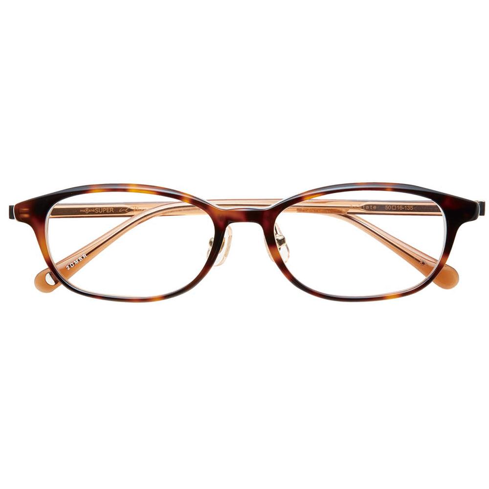 i-mine イマイン IMI10-2312 50 2デミブラウン レディース/メガネ/めがね/眼鏡/度付きメガネ/度入り/伊達メガネ