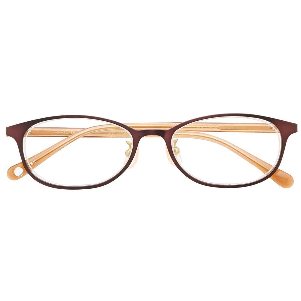 i-mine イマイン IMI12-2432 49 1ブラウン レディース/メガネ/めがね/眼鏡/度付きメガネ/度入り/伊達メガネ