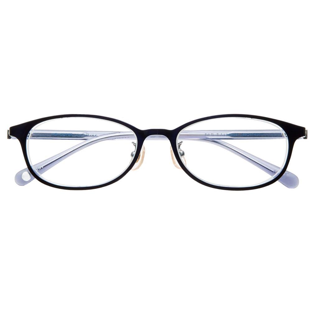 i-mine イマイン IMI12-2432 49 2ネイビー レディース/メガネ/めがね/眼鏡/度付きメガネ/度入り/伊達メガネ