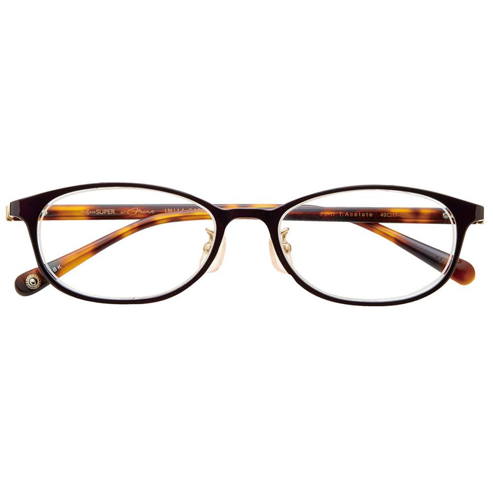 i-mine イマイン【Marisolコラボ】IMI14-2432 1 知的ブラック 49 レディース/メガネ/めがね/眼鏡/度付きメガネ/度入り/伊達メガネ