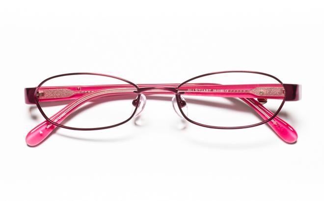 【送料無料】メガネ度付き/度なし JILL STUART ジル スチュアート 05-0180 4VOパープル【薄型レンズ追加料金0円】(メガネケース・メガネ拭き付) メガネ/めがね/眼鏡/度付きメガネ/度入り/伊達メガネ