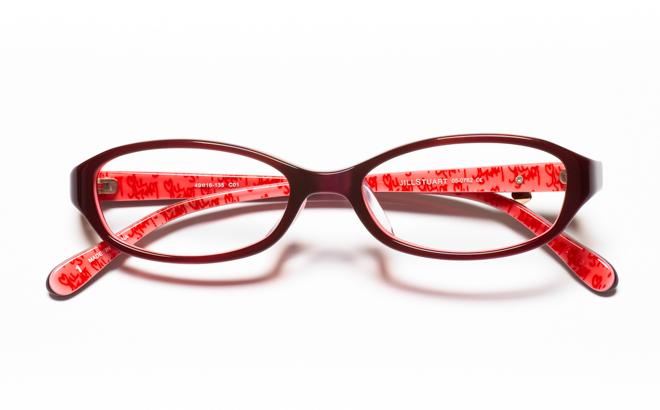【送料無料】メガネ度付き/度なし JILL STUART ジル スチュアート 05-0762 1RDレッド【薄型レンズ追加料金0円】(メガネケース・メガネ拭き付) メガネ/めがね/眼鏡/度付きメガネ/度入り/伊達メガネ