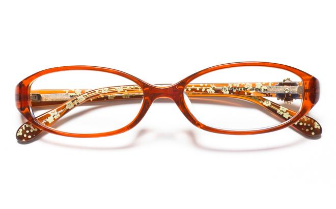 メガネ度付き/度なし JILL STUART ジル スチュアート 05-0767 1BRブラウン(メガネケース・メガネ拭き付) メガネ/めがね/眼鏡/度付きメガネ/度入り/伊達メガネ