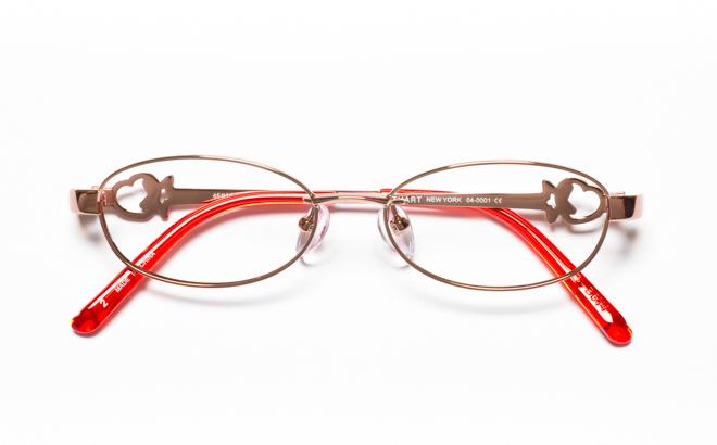 【送料無料】メガネ度付き/度なし JILL STUART NY ジル スチュアート ニューヨーク 04-0001 2LORオレンジ【薄型レンズ追加料金0円】(メガネケース・メガネ拭き付) メガネ/めがね/眼鏡 【子供用/小さいサイズ】