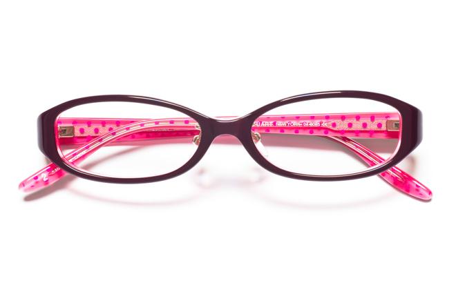 【送料無料】メガネ度付き/度なし JILL STUART NY ジル スチュアート ニューヨーク 04-0005 2PUPKパープル【薄型レンズ追加料金0円】(メガネケース・メガネ拭き付) メガネ/めがね/眼鏡 【子供用/小さいサイズ】