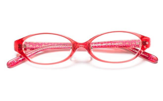 【送料無料】メガネ度付き/度なし JILL STUART NY ジル スチュアート ニューヨーク 04-0009 1PKピンク【薄型レンズ追加料金0円】(メガネケース・メガネ拭き付) メガネ/めがね/眼鏡 【子供用/小さいサイズ】