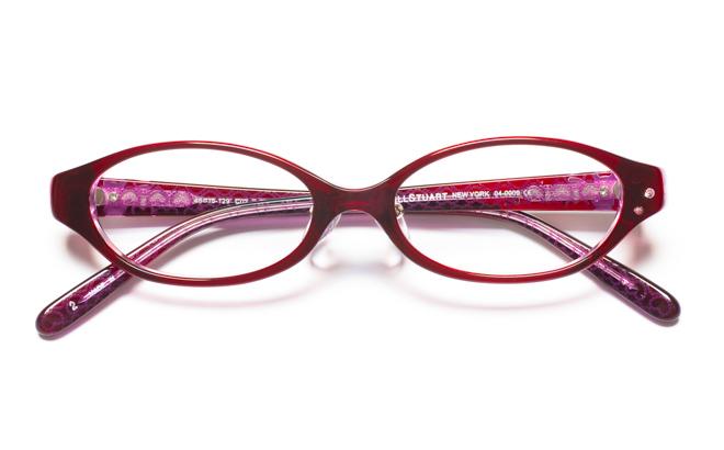 【送料無料】メガネ度付き/度なし JILL STUART NY ジル スチュアート ニューヨーク 04-0009 2PUパープル【薄型レンズ追加料金0円】(メガネケース・メガネ拭き付) メガネ/めがね/眼鏡 【子供用/小さいサイズ】