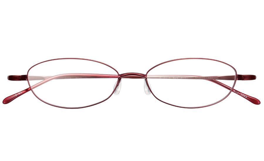 【送料無料】メガネ度付き/度なし nude ヌード NUD-2002 2WIワイン【薄型レンズ追加料金0円】(メガネケース・メガネ拭き付) メガネ/めがね/眼鏡/度付きメガネ/度入り/伊達メガネ