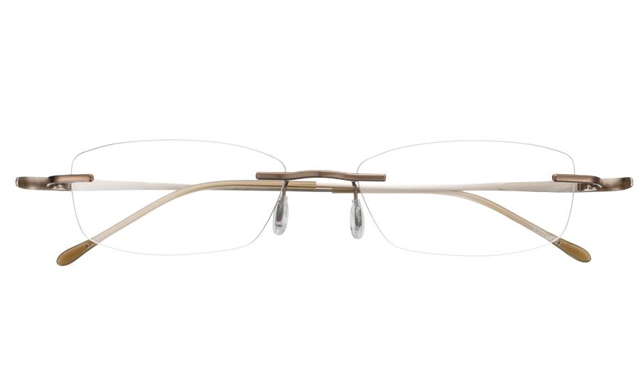 【送料無料】メガネ度付き/度なし nude ヌード NUD-3001 2DBRダークブラウン【薄型レンズ追加料金0円】(メガネケース・メガネ拭き付) メガネ/めがね/眼鏡/度付きメガネ/度入り/伊達メガネ