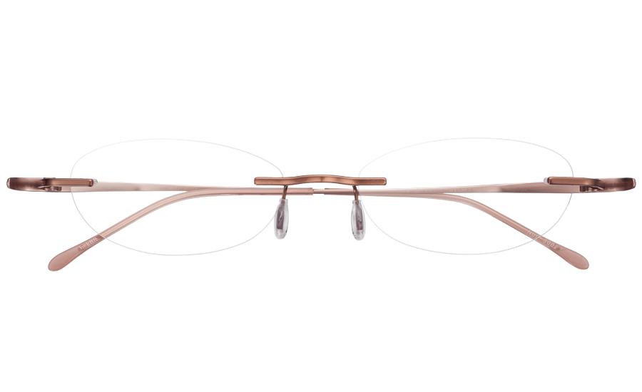 【送料無料】メガネ度付き/度なし nude ヌード NUD-3002 1LBRライトブラウン【薄型レンズ追加料金0円】(メガネケース・メガネ拭き付) メガネ/めがね/眼鏡/度付きメガネ/度入り/伊達メガネ
