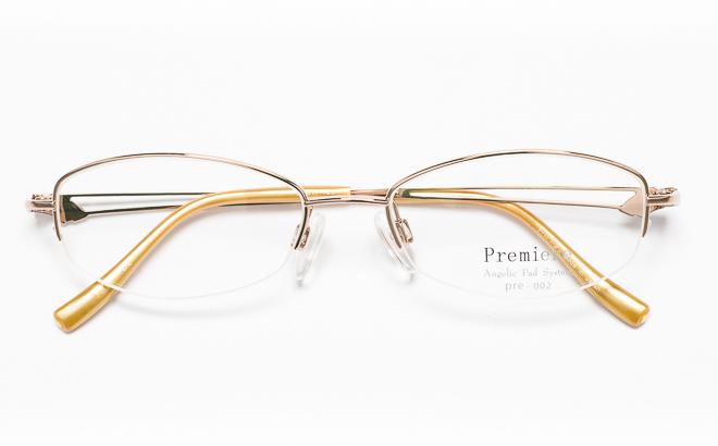 【送料無料】メガネ度付き/度なし Premiereプルミエール PRE-002 2(OR)オレンジ【薄型レンズ追加料金0円】(メガネケース・メガネ拭き付) メガネ/めがね/眼鏡/度付きメガネ/度入り/伊達メガネ