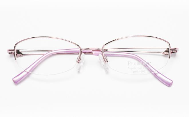 【送料無料】メガネ度付き/度なし Premiereプルミエール PRE-002 3(PU)パープル【薄型レンズ追加料金0円】(メガネケース・メガネ拭き付) メガネ/めがね/眼鏡/度付きメガネ/度入り/伊達メガネ