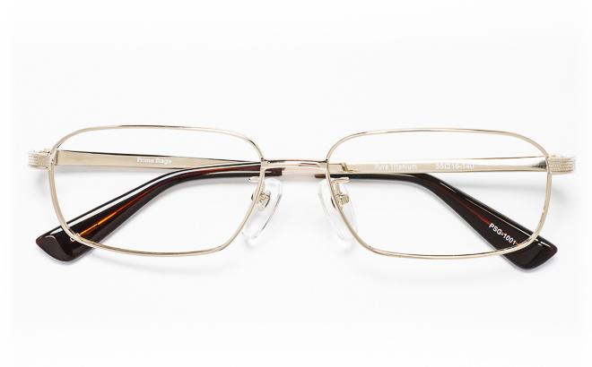 【送料無料】メガネ度付き/度なし Prime Stageプライムステージ PSG-1001 3(GP)ゴールド【薄型レンズ追加料金0円】(メガネケース・メガネ拭き付) メガネ/めがね/眼鏡/度付きメガネ/度入り/伊達メガネ