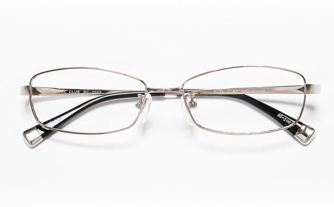 【送料無料】メガネ度付き/度なし ROYAL CLUB ロイヤルクラブ RC-2002 2(GR)グレー【薄型レンズ追加料金0円】(メガネケース・メガネ拭き付) メガネ/めがね/眼鏡/度付きメガネ/度入り/伊達メガネ