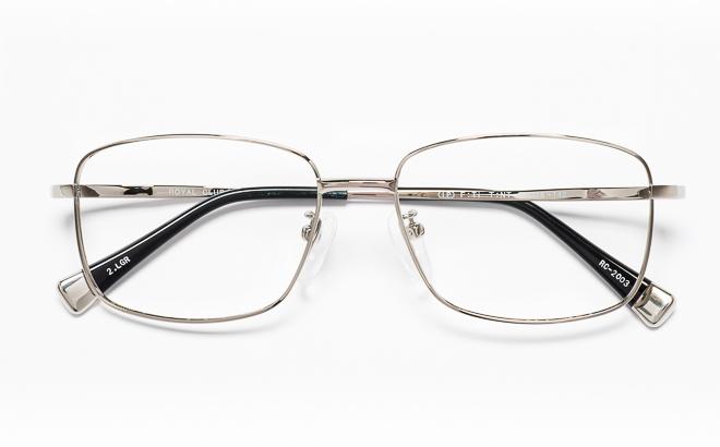 【送料無料】メガネ度付き/度なし ROYAL CLUB ロイヤルクラブ RC-2003 2(LGRグレー【薄型レンズ追加料金0円】(メガネケース・メガネ拭き付) メガネ/めがね/眼鏡/度付きメガネ/度入り/伊達メガネ