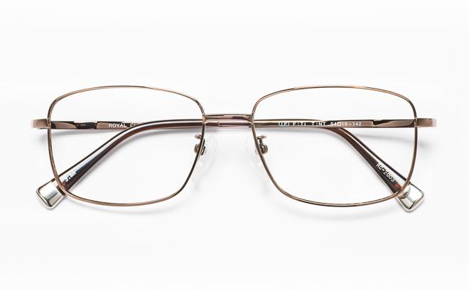 【送料無料】メガネ度付き/度なし ROYAL CLUB ロイヤルクラブ RC-2003 3(BR)ブラウン【薄型レンズ追加料金0円】(メガネケース・メガネ拭き付) メガネ/めがね/眼鏡/度付きメガネ/度入り/伊達メガネ