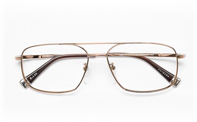 【送料無料】メガネ度付き/度なし ROYAL CLUB ロイヤルクラブ RC-2004 2(LBRブラウン【薄型レンズ追加料金0円】(メガネケース・メガネ拭き付) メガネ/めがね/眼鏡/度付きメガネ/度入り/伊達メガネ