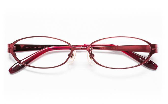 【送料無料】メガネ度付き/度なし RULAL ルーラル RU-1002 2(RD)レッド【薄型レンズ追加料金0円】(メガネケース・メガネ拭き付) メガネ/めがね/眼鏡