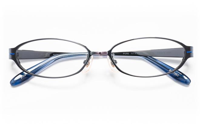 【送料無料】メガネ度付き/度なし RULAL ルーラル RU-1002 3(NV)ブルー【薄型レンズ追加料金0円】(メガネケース・メガネ拭き付) メガネ/めがね/眼鏡/度付きメガネ/度入り/伊達メガネ
