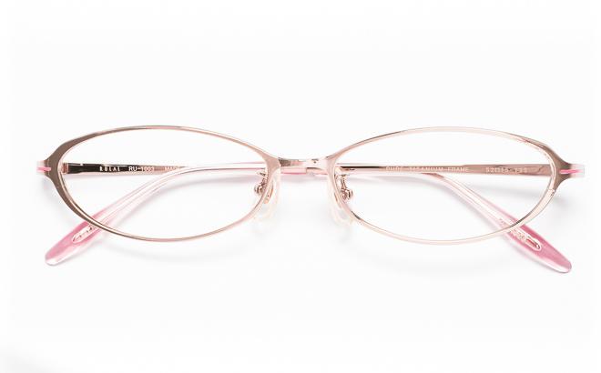 【送料無料】メガネ度付き/度なし RULAL ルーラル RU-1003 1(PK)ピンク【薄型レンズ追加料金0円】(メガネケース・メガネ拭き付) メガネ/めがね/眼鏡/度付きメガネ/度入り/伊達メガネ