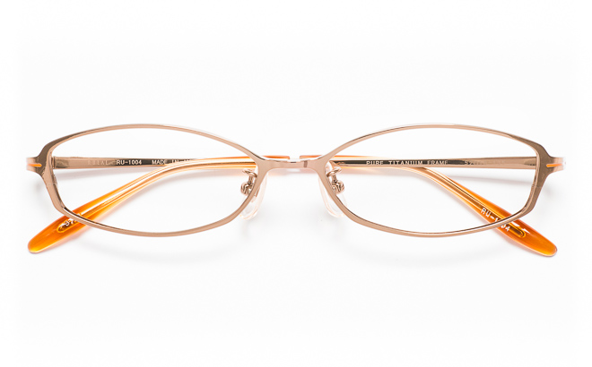 【送料無料】メガネ度付き/度なし RULAL ルーラル RU-1004 3(BR)ブラウン【薄型レンズ追加料金0円】(メガネケース・メガネ拭き付) メガネ/めがね/眼鏡