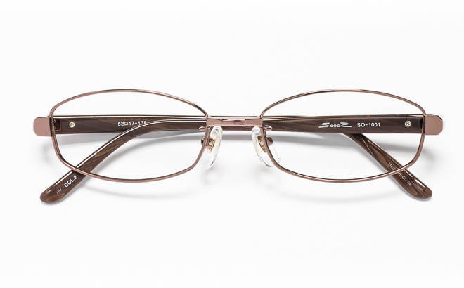 【送料無料】メガネ度付き/度なし SOHOSソーホーズ SO-1001 2(BR)ブラウン【薄型レンズ追加料金0円】(メガネケース・メガネ拭き付) メガネ/めがね/眼鏡/度付きメガネ/度入り/伊達メガネ/眼鏡フレーム