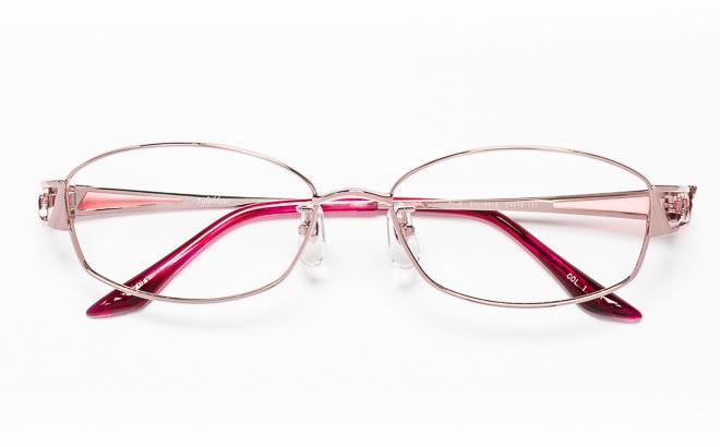 【送料無料】メガネ度付き/度なし Sylphleurシルフルール SYL-001S 1(PK)ピンク【薄型レンズ追加料金0円】(メガネケース・メガネ拭き付) メガネ/めがね/眼鏡/度付きメガネ/度入り/伊達メガネ/眼鏡フレーム