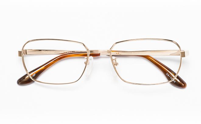 【送料無料】メガネ度付き/度なし Vainqueurヴァンクール VA-1003 1(GP)ゴールド【薄型レンズ追加料金0円】(メガネケース・メガネ拭き付) メガネ/めがね/眼鏡/度付きメガネ/度入り/伊達メガネ