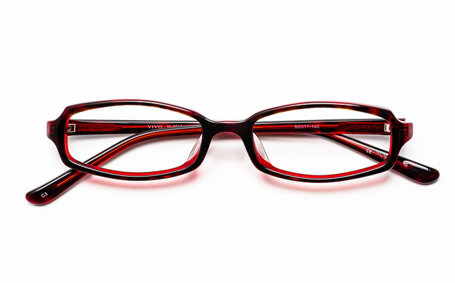 【送料無料】メガネ度付き/度なし VIVOビーボ VI-3010 3WIワイン【薄型レンズ追加料金0円】(メガネケース・メガネ拭き付) メガネ/めがね/眼鏡/度付きメガネ/度入り/伊達メガネ/セルフレーム/セル