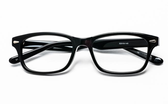 【送料無料】メガネ度付き/度なし VIVOビーボ VI-3011 1BKブラック【薄型レンズ追加料金0円】(メガネケース・メガネ拭き付) メガネ/めがね/眼鏡/度付きメガネ/度入り/伊達メガネ/セルフレーム/セル