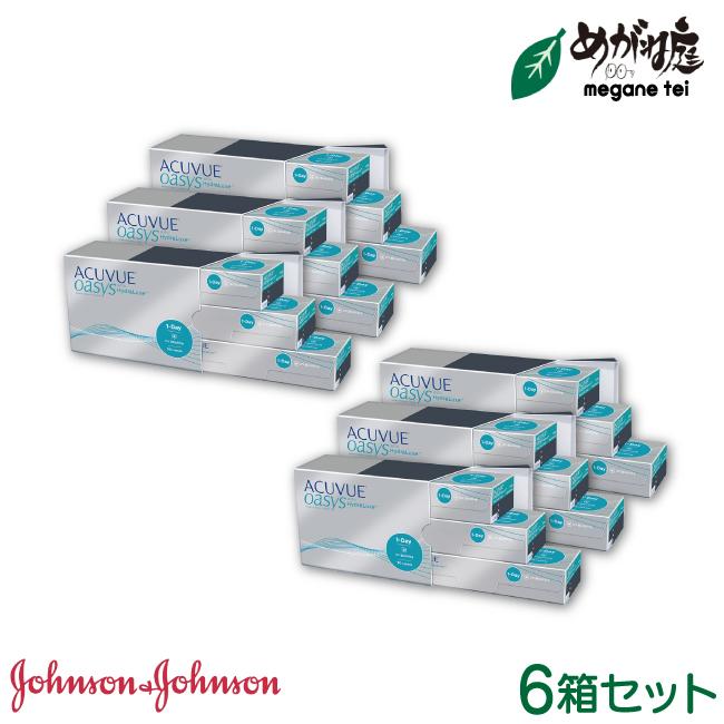 【送料無料】ワンデーアキュビュー オアシス 90枚パック 6箱セット(ワンデー / オアシス / アキュビュー / ジョンソン&ジョンソン / コンタクト / レンズ)