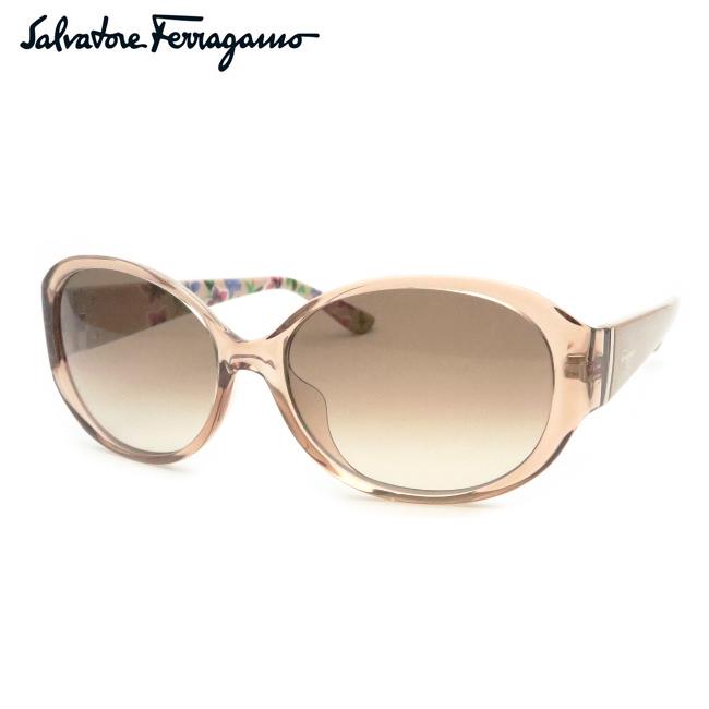 【Salvatore Ferragamo】フェラガモサングラスSF683SA 290 クリアライトブラウン【あす楽】