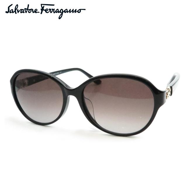【Salvatore Ferragamo】フェラガモサングラスSF804SA-001 ブラック【あす楽】