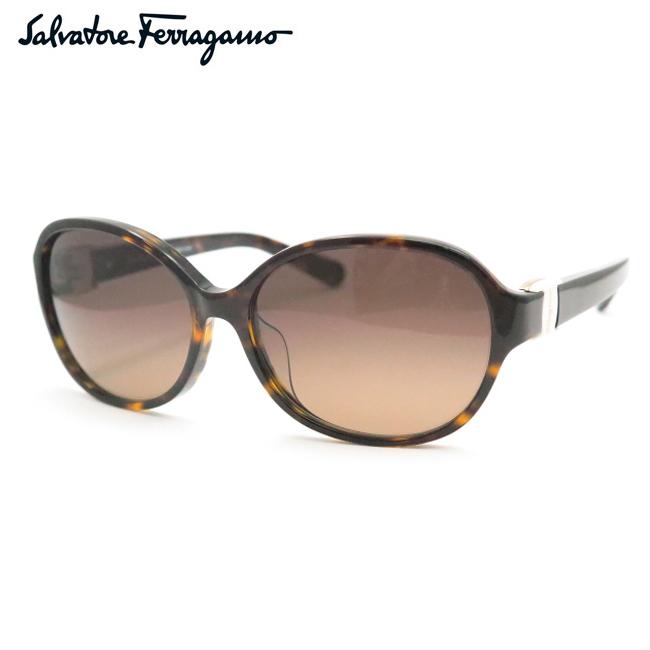 【Salvatore Ferragamo】フェラガモサングラスSF841SA 214 デミブラウン【あす楽】