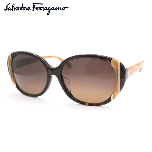 【Salvatore Ferragamo】フェラガモサングラスSF842SA-214 デミブラウン【あす楽】