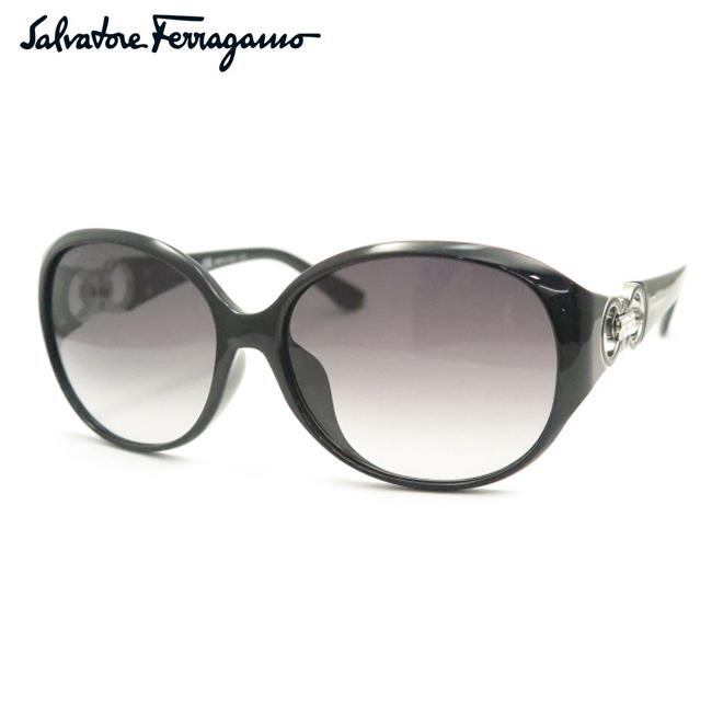 【Salvatore Ferragamo】フェラガモサングラスSF896SRA 001 ブラック【あす楽】