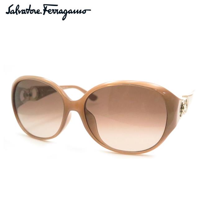 【Salvatore Ferragamo】フェラガモサングラスSF896SRA 665 オパールローズ【あす楽】