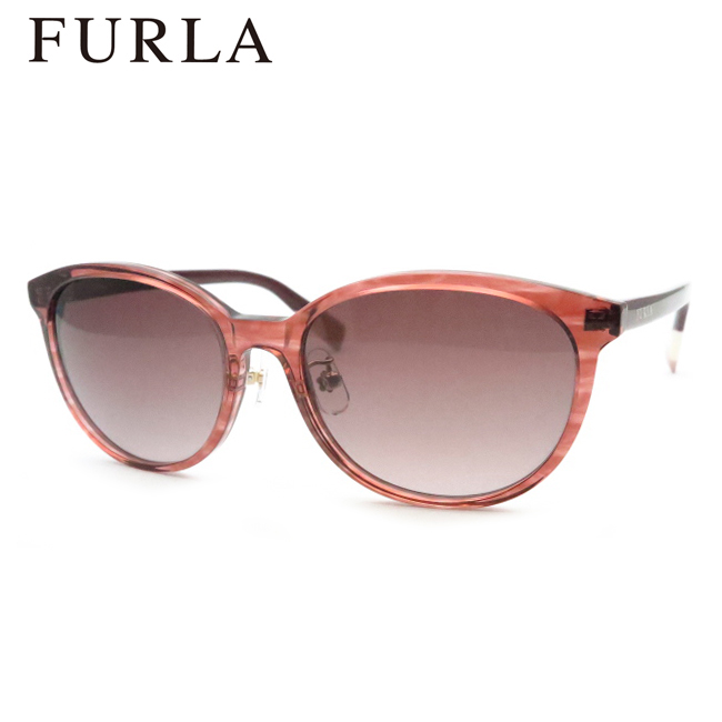 【FURLA】フルラサングラスSFU287J 09GI ボルドー 54サイズ【あす楽】
